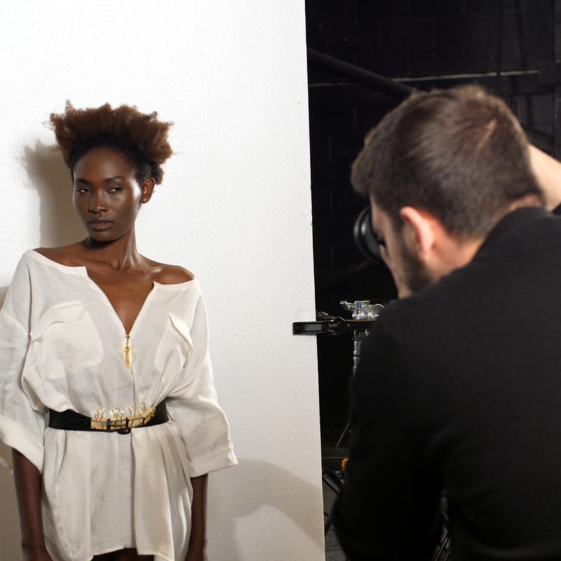 Still from Remodel Fashion BTS by Kamil Kwiecinski